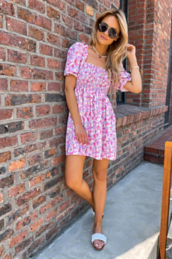 Sukienka Lily różowa 5
