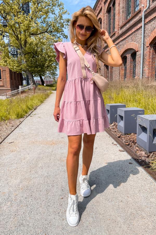 Sukienka Lily różowa 3