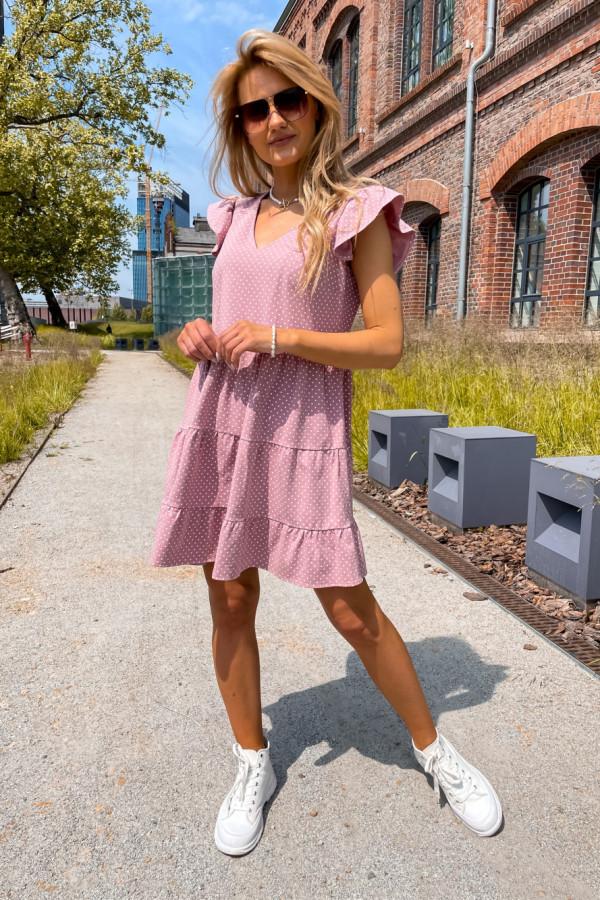 Sukienka Lily różowa 2