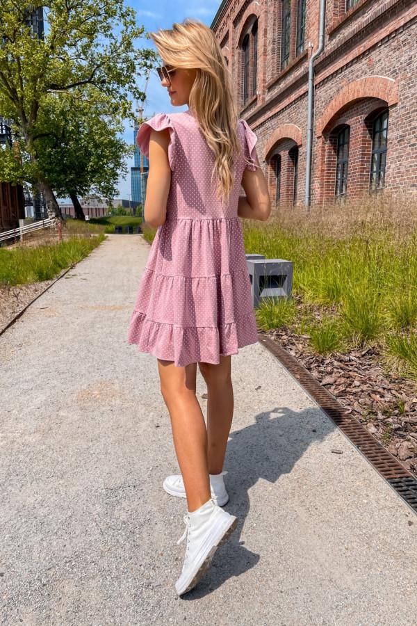 Sukienka Lily różowa 4