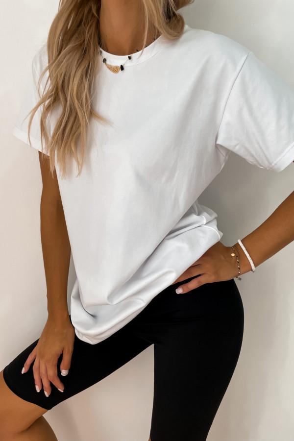 T-shirt biały Long