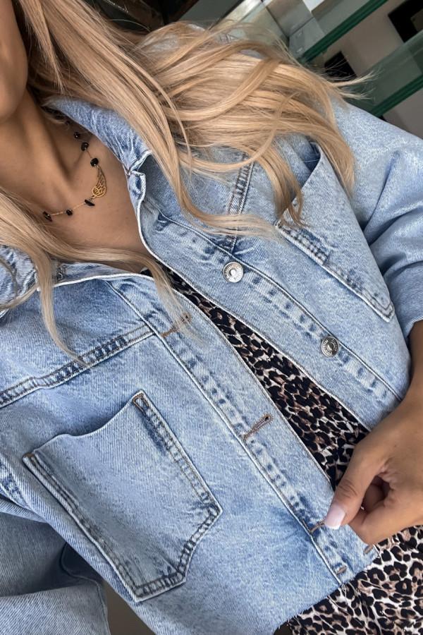 Kurtka jeansowa Pola 4