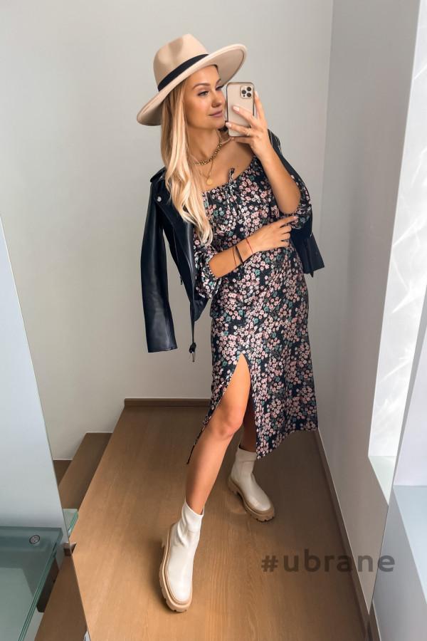 Sukienka Savanna Midi w kwiaty 1