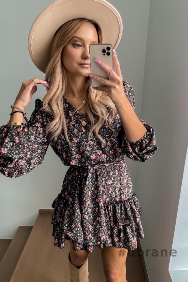 Sukienka Ester Kwiaty 1
