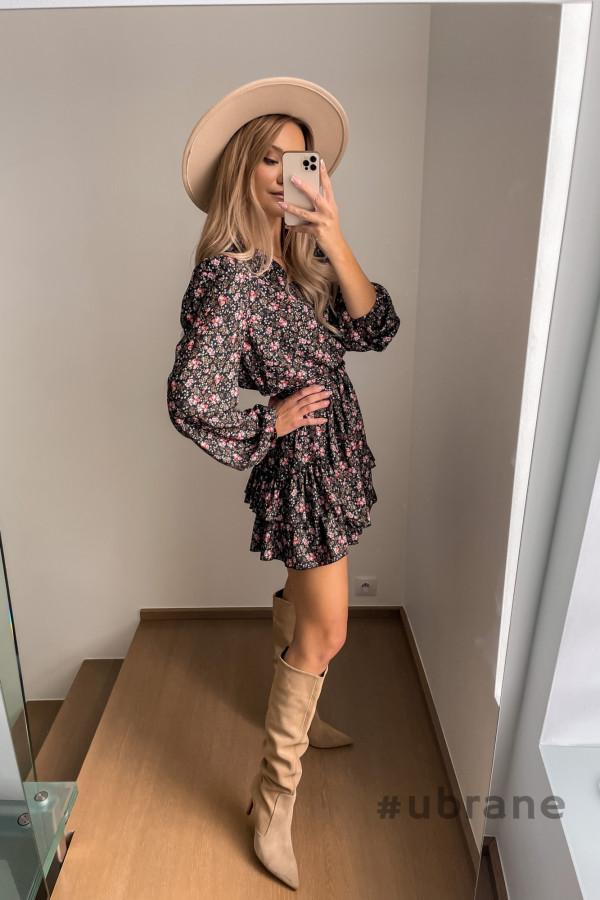 Sukienka Ester Kwiaty 2