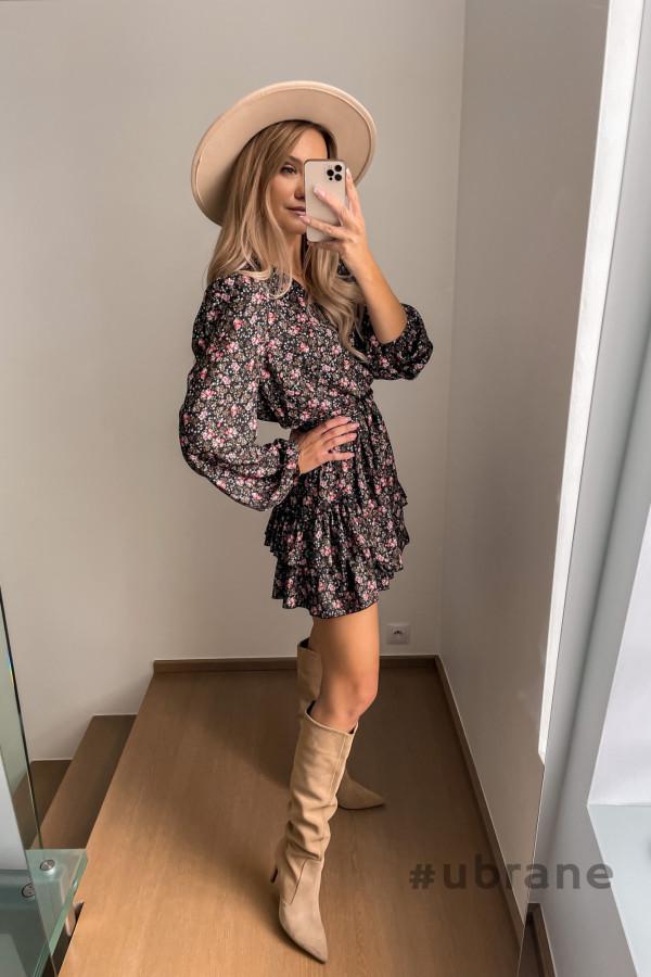 Sukienka Ester Kwiaty 3