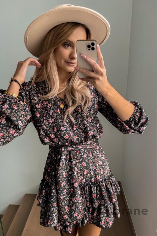 Sukienka Ester Kwiaty 4