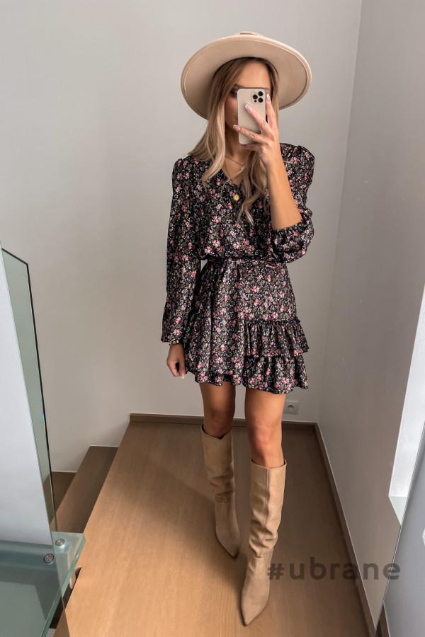 Sukienka Ester Kwiaty 5