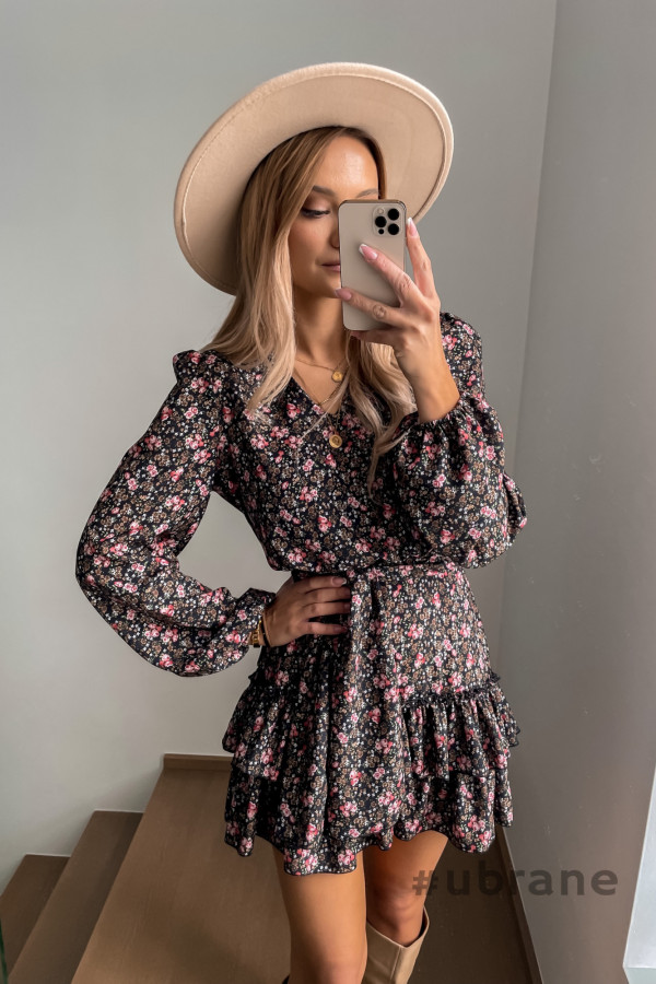 Sukienka Ester Kwiaty 6