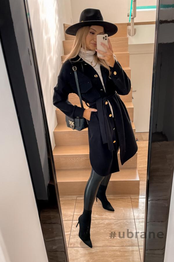 Płaszcz Marbella ze złotymi guzikami 5